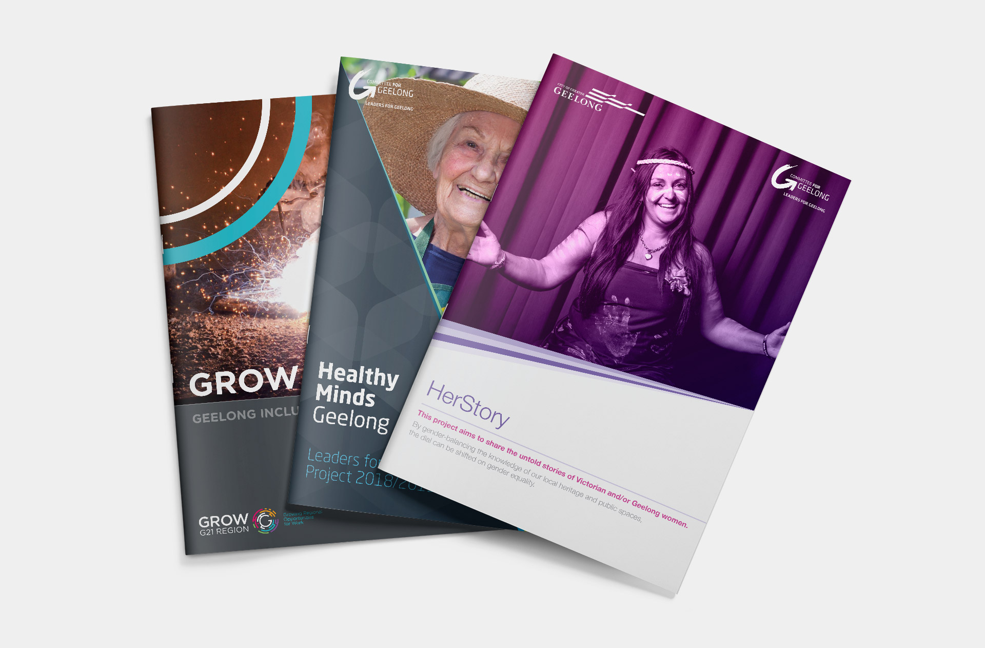 Leaders for Geelong report covers