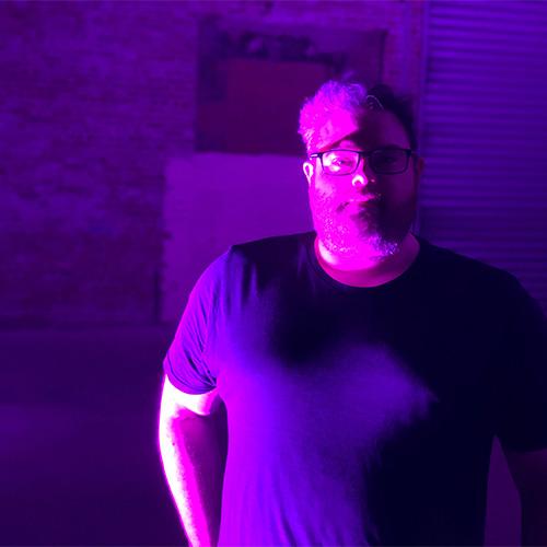A very purple Todd